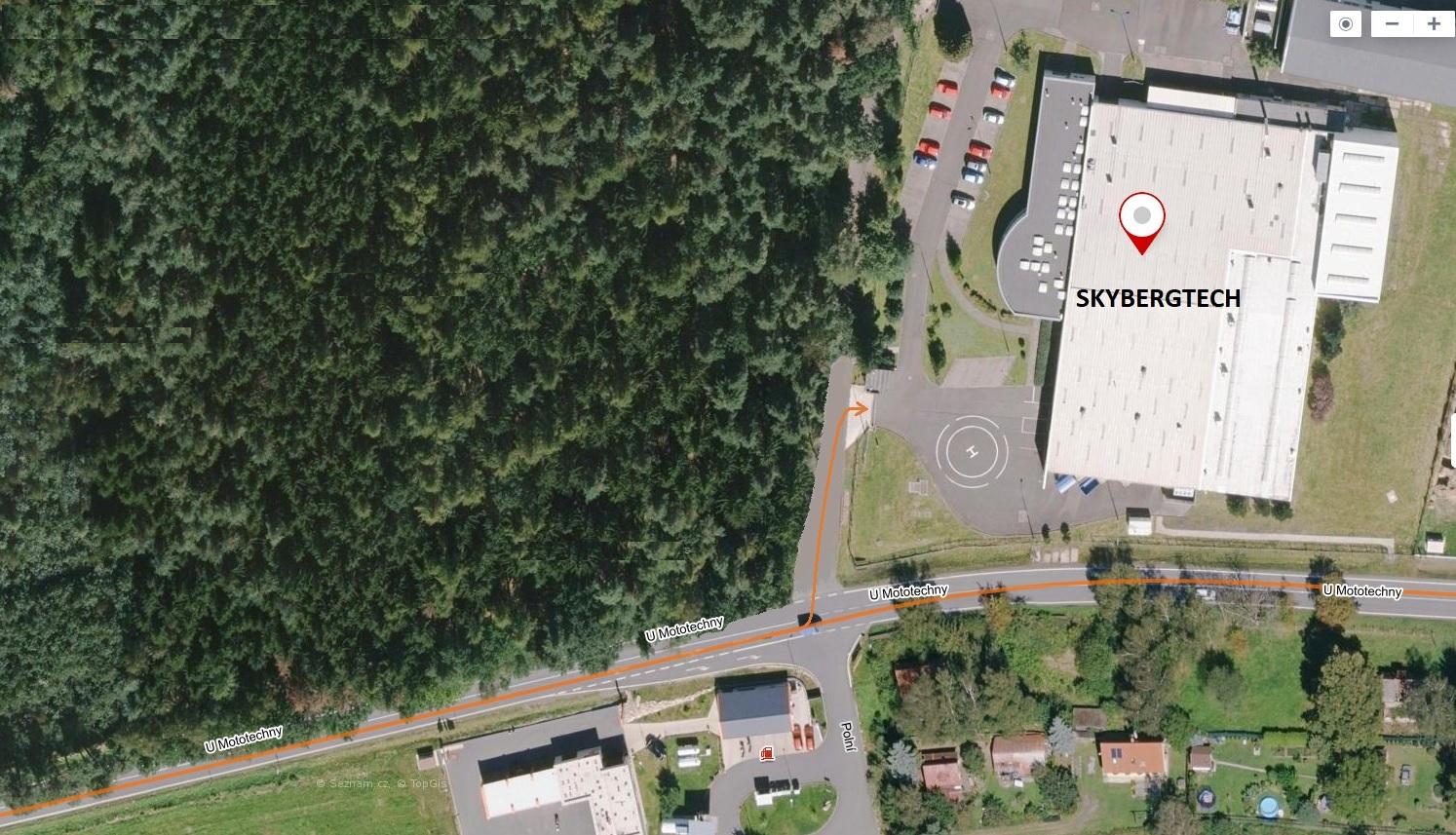 maps SKYBERGTECH